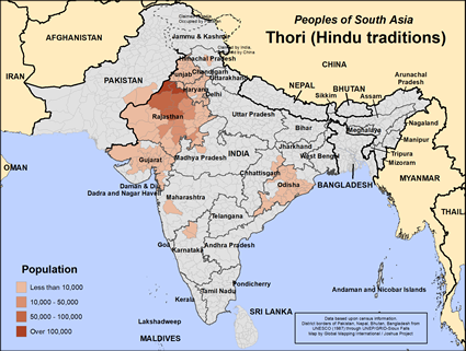Thori (Hindu traditions) in India