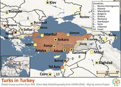 Turk in Turkey | Joshua Project