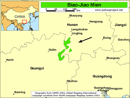 Biao-Jiao Mien in China