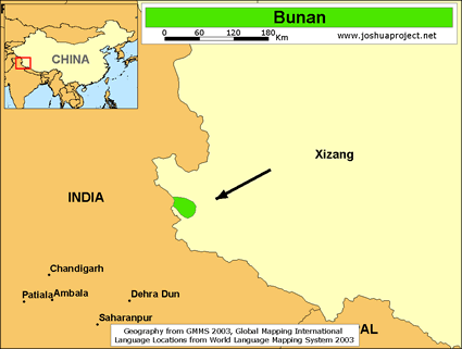 Bunan in China