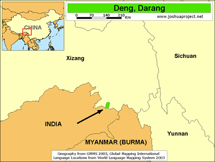 Deng, Darang in China