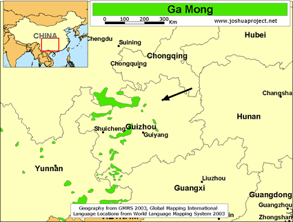 Ga Mong in China