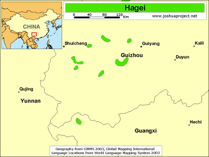Hagei in China