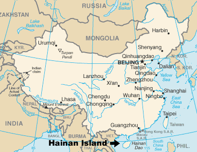 Hakka, Hainan Island in China