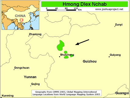 Hmong Dlex Nchab in China