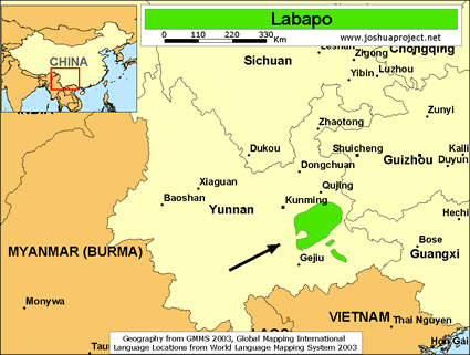 Labapo in China