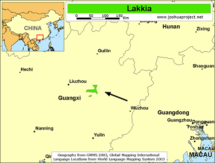 Lakkia in China