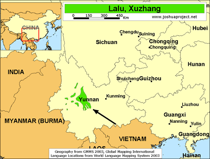 Lalu, Xuzhang in China