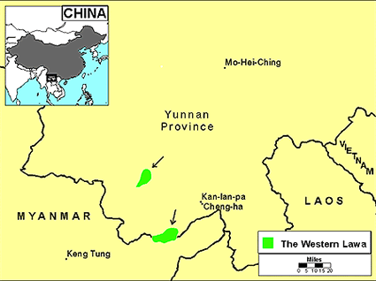 Lawa in China