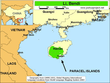 Li, Bendi in China