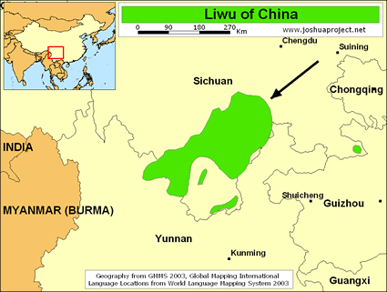 Liwu in China