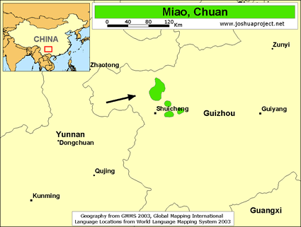 Miao, Chuan in China