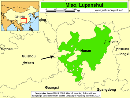 Miao, Lupanshui in China