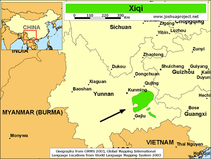 Xiqi in china joshua project map source joshua project global mapping international gumiabroncs Images