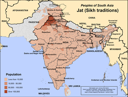 Jat (Sikh traditions) in India