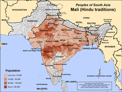 Mali (Hindu traditions) in India