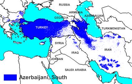 Azerbaijani Azeri Turk In Azerbaijan Joshua Project - Azerbaijan maps with countries