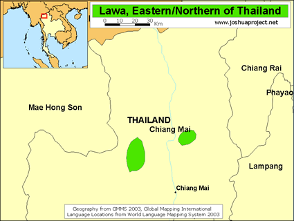 Lawa, Eastern in Thailand