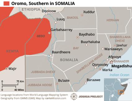 Oromo, Southern in Somalia | Joshua Project