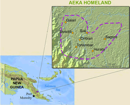 Aeka in Papua New Guinea