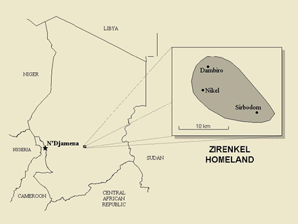 Zirenkel in Chad