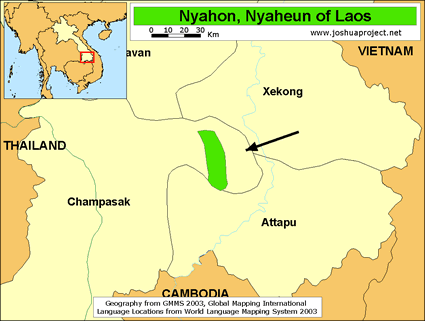 Nyahon in Laos