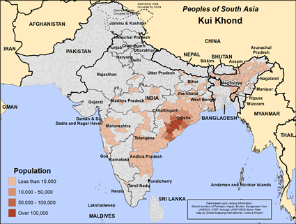 Kui Khond in India