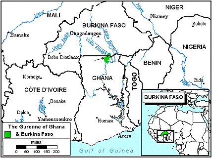 Gur, Ninkare in Burkina Faso