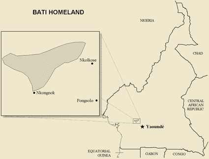 Bati, Bush Bati in Cameroon