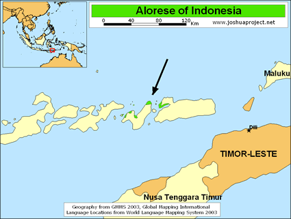 Alorese in Indonesia