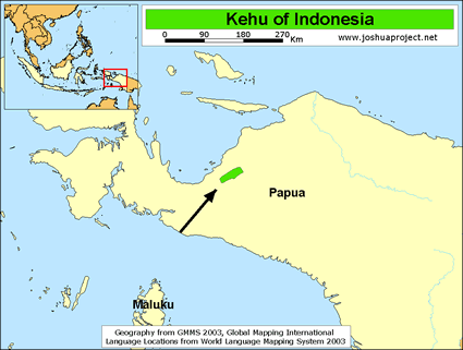 Kehu in Indonesia