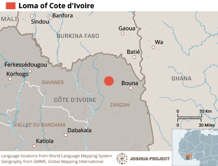 Loma in Cote d'Ivoire