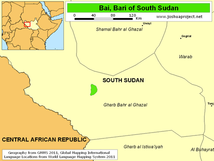 Bai, Bari in South Sudan