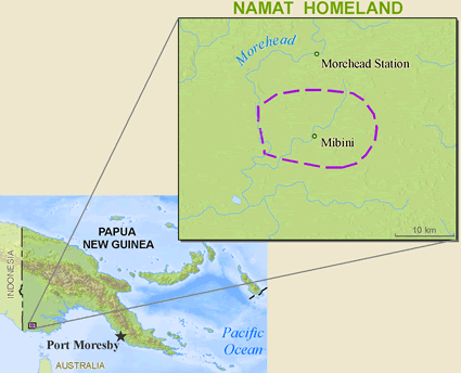 Namat in Papua New Guinea