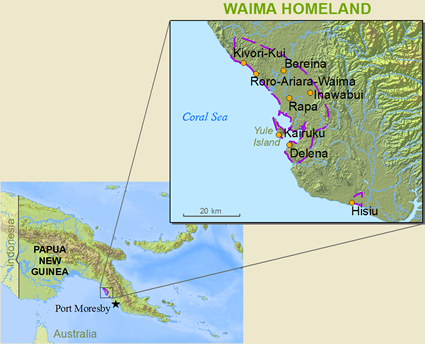 Waima in Papua New Guinea