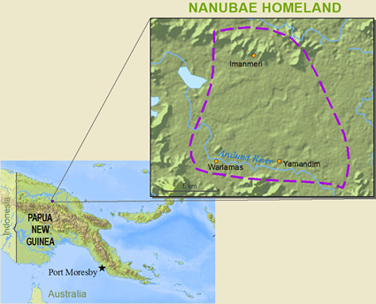 Nanubae in Papua New Guinea