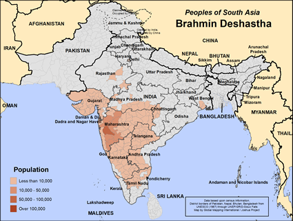 Brahmin Deshastha in India