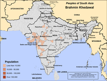 Brahmin, Khedawal in India
