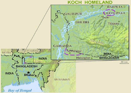 Koch (Hindu traditions) in Bangladesh