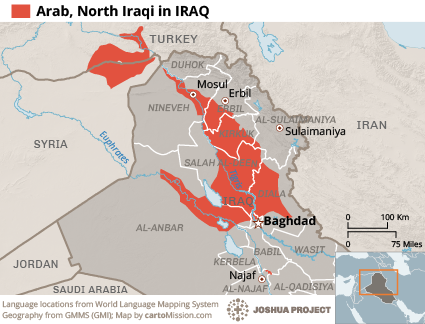 Arab, North Iraqi in Iraq