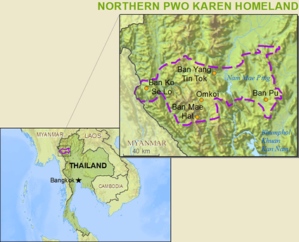 Karen, Pwo, Northern in Thailand