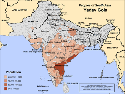 Yadav Gola in India
