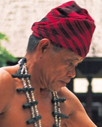 Dayak, Lawangan in Indonesia